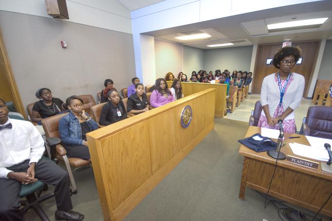 Cumshot court teen court leon discuss and